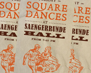 Saengerrunde Hall Square Dances