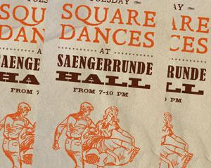 Saengerrunde Hall Square Dances